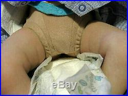 Realborn Miranda Asleep by Bountiful Baby Realistic Lifelike OOAK Doll with COA