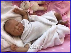 Realborn Summer Rain Asleep Reborn Doll Baby Girl Prem 20 Cherish Dolls Uk