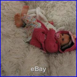 Realborn baby reborn baby Lavender AWAKE girl doll