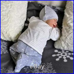 Realistic 20'' Little Cute Lana Reborn Baby Doll Girl- Truly Lifelike Baby Doll