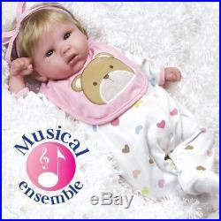 Realistic Handmade Baby Doll Girl Newborn Lifelike Vinyl Weighted Alive Reborn