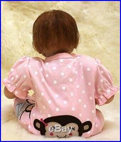 Realistic Handmade Reborn Baby Dolls Boy Girl Newborn Gifts Lifelike Soft Vinyl