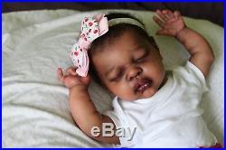 Realistic Lifelike Reborn Doll Erin Stoete by Prototype Artist Angela Plicka