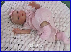 Realistic Newborn Doll Reborn Gracie Rubert 20 Brown Eyed Baby Sunbeambabies