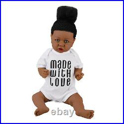 Realistic Reborn Newborn Girl Doll 22 Handmade Vinyl Silicone Baby Dolls Xmas