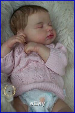 Realistic reborn doll Lou Lou by Joanna Kazmierczak