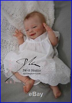 Reborn April Awake Sculpt by Joanna Kazmierczak Baby Doll
