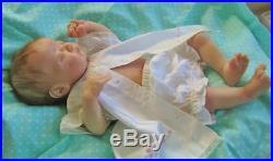Reborn Art Doll Americus Sleepy Baby Girl Full VInyl Body New Release