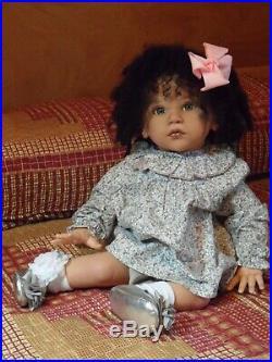 Reborn Art Doll MATTIA Biracial Toddler Sold Out, L. E, COA