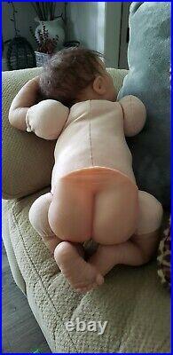 Reborn Ashton Drake Doll Charlie Linda Webb, Weighted Cloth Body, Soft Vinyl