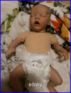 Reborn Baby 16 In Beautiful sucks thumb takes pacifier