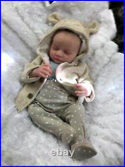 Reborn Baby Art Doll Made From 3d Scan Of A Real Baby Authentic Reborn Uk J