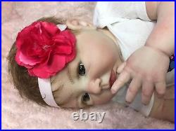 Reborn Baby Aubrey Doll Therapy for Alzheimer's, Kids & Special Needs