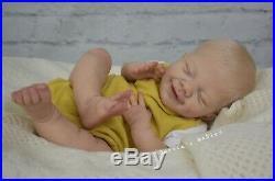 Reborn Baby BOY Doll April Joanna Kazmierczak By Jessie's Babies