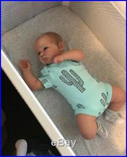 Reborn Baby Boy Doll Connolly by Andrea Arcello