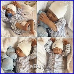 Reborn Baby Boy Doll Noah Fake Babies Realistic Hand Painted 22 Big Newborn