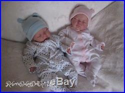 Reborn Baby Boy Doll, Sleeping Newborn by #RebornBabyDollArtUK