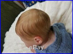 Reborn Baby Boy LUCIANO by Cassie Brace Limited Edition Realistic Newborn Doll