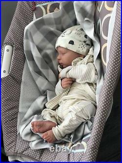 Reborn Baby Boy Realborn Canon, Realistic Therapy Doll