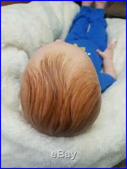 Reborn Baby Boy Toddler Limited Edition FRITZI by Karola Wegerich Lifelike Doll