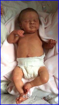 Reborn Baby Doll Americus By Lle Full Body Torso