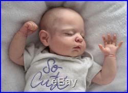 Reborn Baby Doll Baby Girl Zoey by Cassie Brace