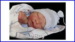 Reborn Baby Doll Darren HBN ART DOLLS Evon Nather ULTIMATE BLONDIE