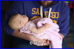Reborn Baby Doll Evelyn by Cassie Brace Limited Ed 364/800