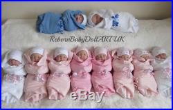 Reborn Baby Doll, GIRL, Beautiful Sleeping Baby Doll. #RebornBabyDollArtUK