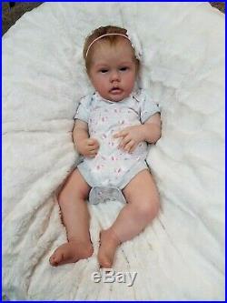 Reborn Baby Doll Girl Penny by Natali Blick / Sheila's Newborn Nursery Ltd Ed
