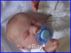 Reborn Baby Doll Levi Sweet Baby! Bonnie Brown