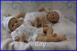 Reborn Baby Doll Lifelike Realistic Vinyl doll kit TOBY Phil Donnelly Babies