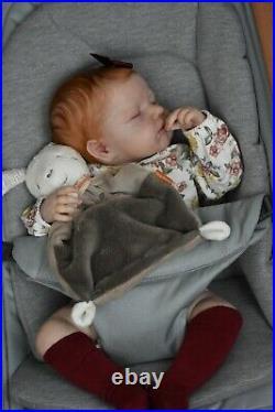 Reborn Baby Doll LouLou by Joanna Kazmierczak