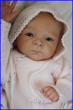 Reborn Baby Doll Milaine sweet Girl Rebornpuppe Neu wunderschöne Maus