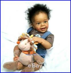 Reborn Baby Doll, Natali Blick, Ethnic, biracial, Nursery BRC