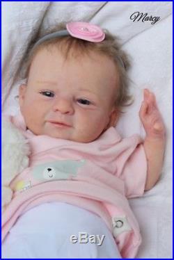 Reborn Baby Doll Olga Auer Twin Marcy neu sweet limitiert Puppe süße Maus
