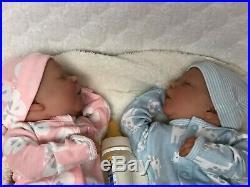 Reborn Baby Doll Realborn Darren /Girl / COA