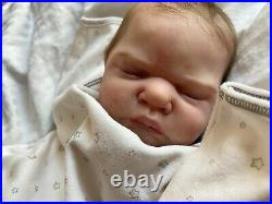 Reborn Baby Doll Romilly Brace Reborned By Paqui Galan