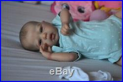 Reborn Baby Doll Sculpt Mindy by Adrie Stoete by Artist Kelly Campbell