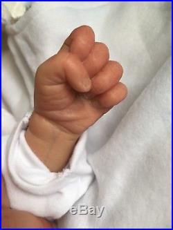 Reborn Baby Doll Sofia Grace by Natalie Scholl Life Like