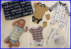 Reborn Baby Doll Thomas By Olga Auer Very With Extras! FREE SHIPPING