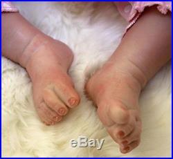 Reborn Baby Dolls 22 Cute Realistic Silicone Vinyl Doll Newborn Full Handmade