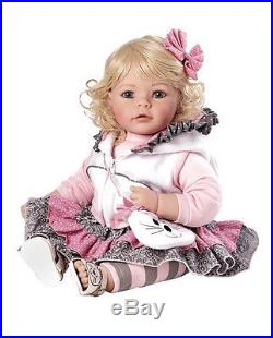 Reborn Baby Dolls Girl 20 Inch Real Looking Light Lifelike Hair Blond Eyes Blue