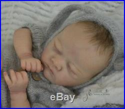Reborn Baby GIRL Doll CHARLOTTE Laura Lee Eagles By Jessie's Babies