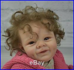 Reborn Baby GIRL Doll Shaya Bonnie Sieben By Jessie's Babies