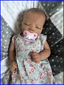 Reborn Baby Girl AZRAYA by Nicole Russell Lifelike Newborn Doll Ltd Edition