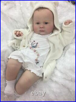 Reborn Baby Girl Art Doll Made From Realborn Joseph 3 Authentic Reborn Uk
