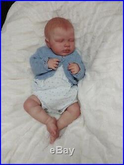 Reborn Baby Girl Lou Lou by Joanna Kazmierczak Limited Edition Newborn Doll