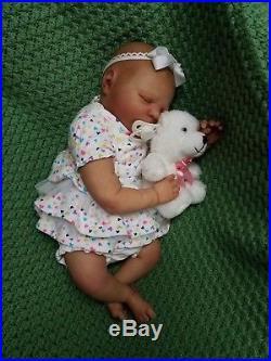 Reborn Baby Girl Realborn Emma Bountiful Baby Lifelike Newborn Doll Biracial