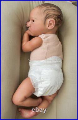 Reborn Baby SOLE Grayson Bonnie Brown Realistic Lifelike Doll RARE